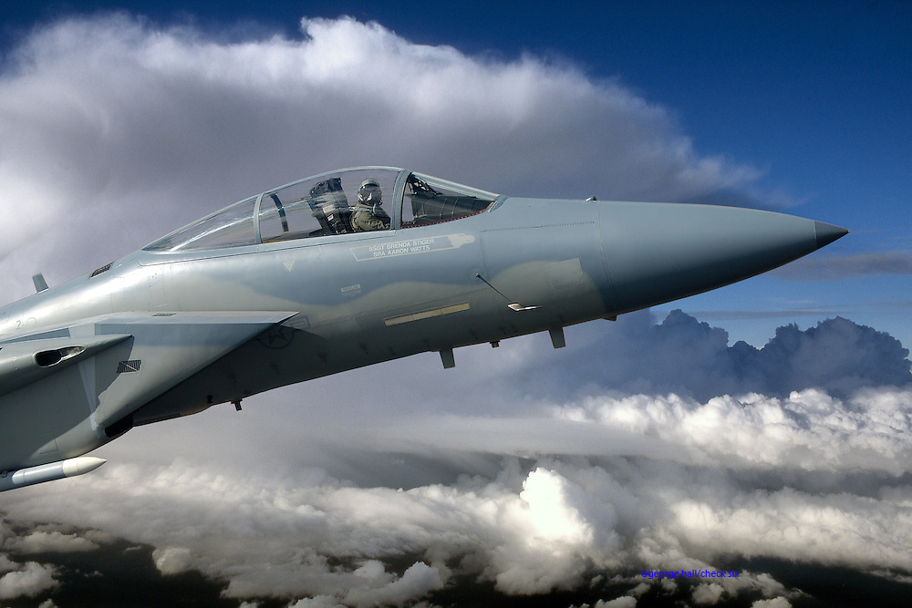 Thunderhead high-altitude F-15C Eagle