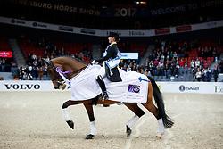 Werth Isabell, GER, Emilio<br /> Gothenburg Horse Show FEI World Cups 2017<br /> © Hippo Foto - Stefan Lafrentz<br /> 24/02/17