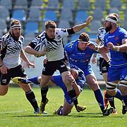 Parma, Stadio Lanfranchi<br /> 8/04/2017<br /> Round 19<br /> Zebre vs Newport Gwent Dragons<br /> <br /> Kayle Van Zyl
