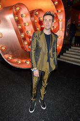 NICK GRIMSHAW at the Warner Music Group & Ciroc Vodka Brit Awards After Party held at The Freemason's Hall, 60 Great Queen St, London on 24th February 2016.