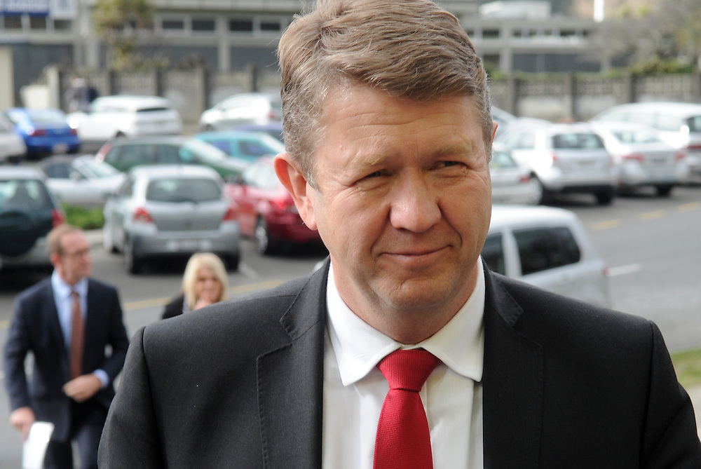Labour leader David Cunnliffe arrives to announce his Party's $16.25 minimum wage election policy, Porirua, Wellington, New Zealand, Wednesday Junly 30, 2014. Credit:SNPA / Ross Setford