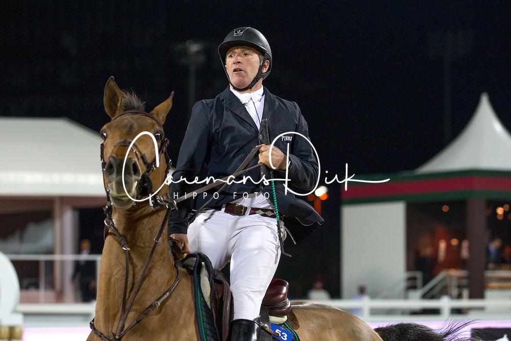 Bost Roger Yves (FRA) - Castle Forbes Myrtille Paulois<br /> Final Global Champions Tour - Abu Dhabi 2012<br /> &copy; Hippo Foto - Cindy Voss