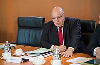DEU, Deutschland, Germany, Berlin, 18.10.2017: Kanzleramtsminister Peter Altmaier (CDU) vor Beginn der 165. Kabinettsitzung im Bundeskanzleramt.
