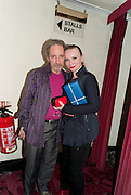 HARRY SHEARER; JUDITH OWEN, Press night for Ruby Wax- Losing it. Duchess theatre. London. 1 September 2011. <br /> <br />  , -DO NOT ARCHIVE-© Copyright Photograph by Dafydd Jones. 248 Clapham Rd. London SW9 0PZ. Tel 0207 820 0771. www.dafjones.com.