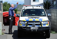 Napier-Police at Westshore house where a woman was found shot dead