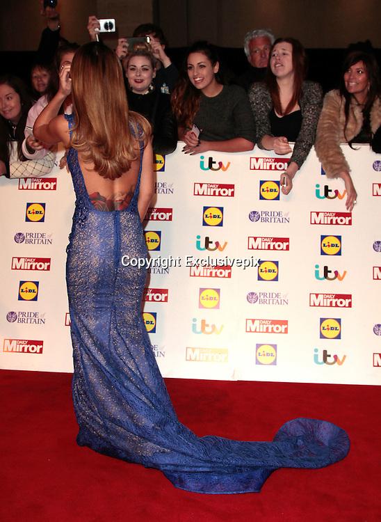 Pride of Britain Awards 2014 Red Carpet Arrivals at The Grosvenor House Hotel, London<br /> <br /> Photo Shows: Cheryl Fernandez-Versini<br /> ©Exclusivepix