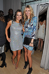 Left to right, MARIA HATZISTEFANIS and MELISSA ODABASH at the 2012 Rodial Beautiful Awards held at The Sanderson Hotel, Berners Street, London on 6th March 2012.