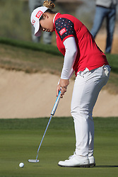 March 22, 2019 - Phoenix, AZ, U.S. - PHOENIX, AZ - MARCH 22: Amy Yang putts during the second round of the Bank of Hope LPGA Golf Tournament at the Wildfire Golf Club at JW Marriott Phoenix Desert Ridge Resort & Spa, March 22, 2019 in Phoenix, Arizona (Photo by Will Powers/Icon Sportswire) (Credit Image: © Will Powers/Icon SMI via ZUMA Press)