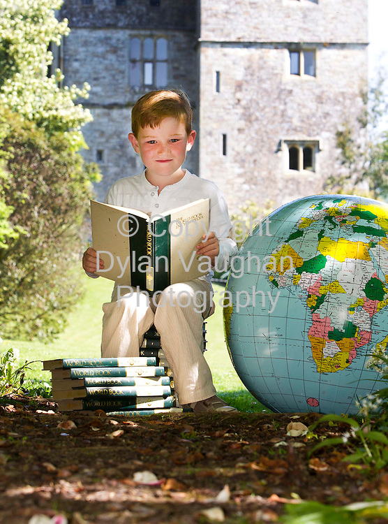 23/5/2010.Picture Courtesy of Immrama no charge for reproduction.Looking forward to tales of Exploration is Andrew Nolan aged 7 from Lismore pictured at Lismore Castle Gardens ahead of the Immrama Festival of Travel Writers' which will take place in Lismore from June 10 to 13. The festival will feature tales of exploration from world famous explorers and authors Sir Ranulph Fiennes, Tim Severin, Pico Iyer, Damien Lewis and Jan Morris. A traditional afternoon of free family fun in the town's scenic Millennium Park for all the family will also be on offer -.Photograph Dylan Vaughan.