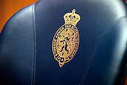 Nederland, Den Haag, 19-3-2002Stoel, zetel in de tweede kamer der staten generaal.politiek, verkiezingen, volksvertegenwoordiging, democratieFoto: Flip Franssen/Hollandse Hoogte