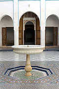 Bahia Palace Riad Architecture, Marrakesh, Morocco, 2017–12-05.