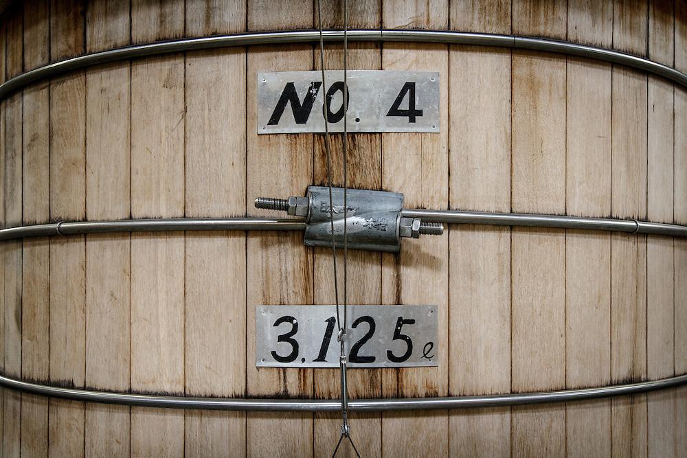 Washbacks at Chichibu Distillery in Chichibu, Saitama Prefecture, Japan, November 4, 2015. Gary He/DRAMBOX MEDIA LIBRARY