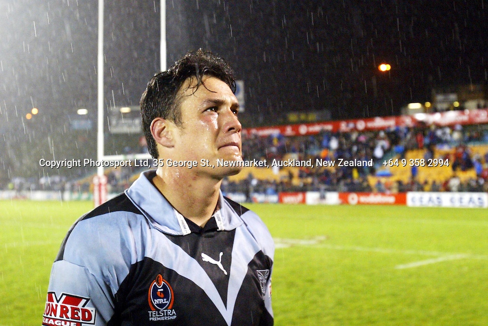 6 September 2003, Ericsson Stadium, Auckland, New Zealand.  Warriors vs Tigers.<br />