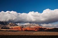 Scenic View of Calico Hills, Red Rock Canyon, Nevada