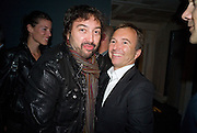 JOVAN JELOVAC; TONY CHAMBERS, Celebrate the second guest editors issue. Pre-launch of  Paramount at Centrepoint.London 16 September 2008. *** Local Caption *** -DO NOT ARCHIVE-© Copyright Photograph by Dafydd Jones. 248 Clapham Rd. London SW9 0PZ. Tel 0207 820 0771. www.dafjones.com.