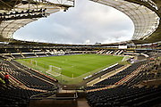 KC stadium before the Capital One Cup match between Hull City and Swansea City at the KC Stadium, Kingston upon Hull, England on 22 September 2015. Photo by Ian Lyall.