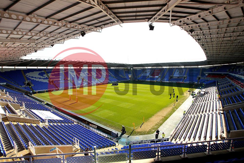 A general view of The Madejski Stadium, home to Reading FC and London Irish - Mandatory by-line: Robbie Stephenson/JMP - 25/02/2018 - RUGBY - Madejski Stadium - Reading, England - London Irish v Worcester Warriors  - Aviva Premiership