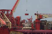 am 11.09.2012 auf der Elbe
