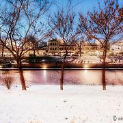 Kansas City's Brush Creek in Winter