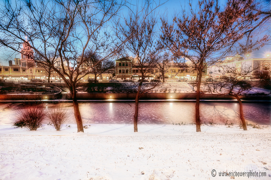 Kansas City's Brush Creek in Winter