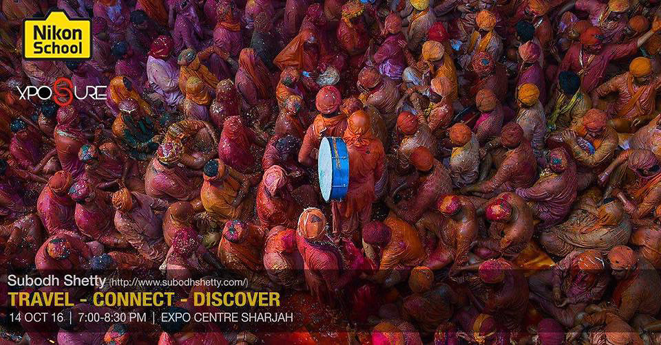 Nikon Speaker - Exposure International Photography Festival 2016 - Sharjah<br />