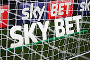 Sky bet logos during the EFL Sky Bet Championship match between Burton Albion and Nottingham Forest at the Pirelli Stadium, Burton upon Trent, England on 17 February 2018. Picture by John Potts.
