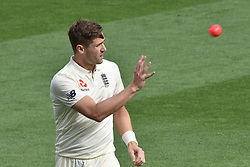 March 23, 2018 - Auckland, Auckland, New Zealand - Chris Woakes of England during Day Two of the First Test match between New Zealand and England at Eden Park in Auckland on Mar 23, 2018. (Credit Image: © Shirley/Pacific Press via ZUMA Wire)