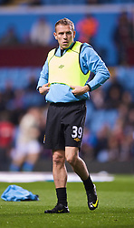 BIRMINGHAM, ENGLAND - Monday, October 5, 2009: Manchester City's Craig Bellamy before the Premiership match against Aston Villa at Villa Park. (Pic by David Rawcliffe/Propaganda)