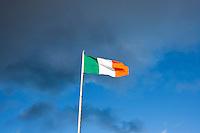 Irish flag in Dublin