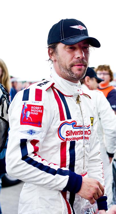 Silverstone Classic 2012, Jay Kay, celebrity Morgan race,