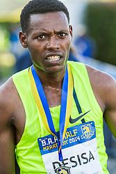 Boston Athletic Association Half Marathon, winner Lelisa Desisa