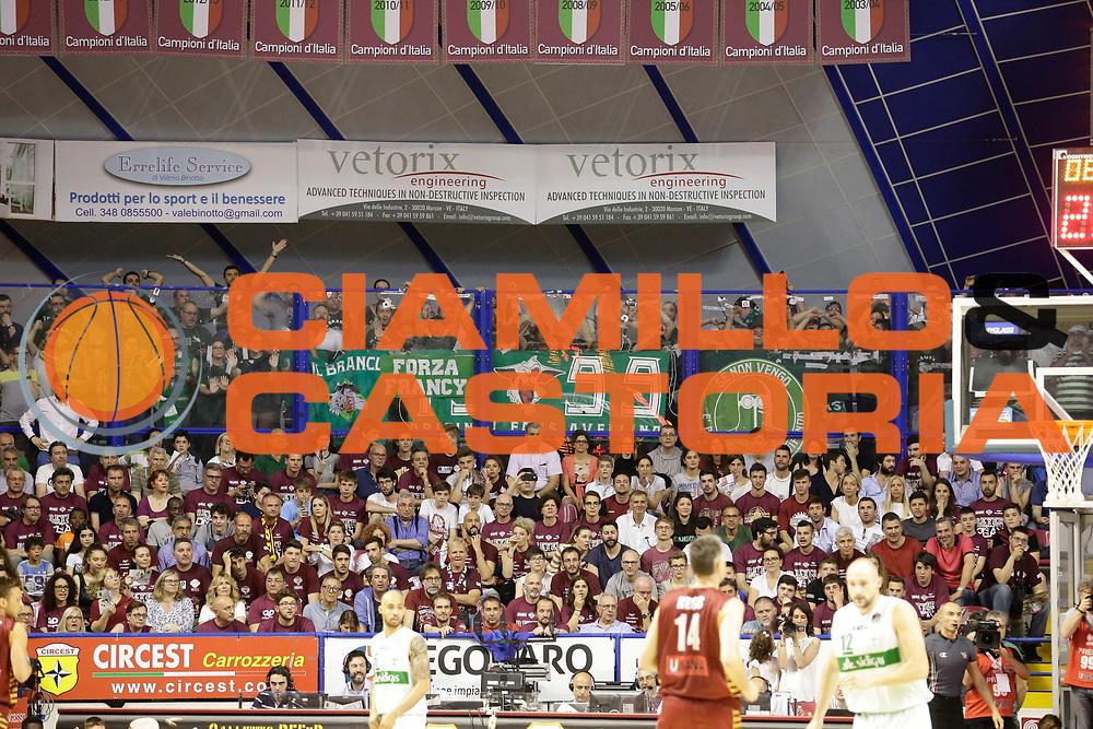 Tifosi Avellino<br /> Umana Reyer Venezia - Sidigas Scandone Avellino<br /> Lega Basket Serie A 2016/17 Semifinali Gara 01<br /> Venezia, 26/05/2017<br /> Foto Ciamillo-Castoria / M. Brondi