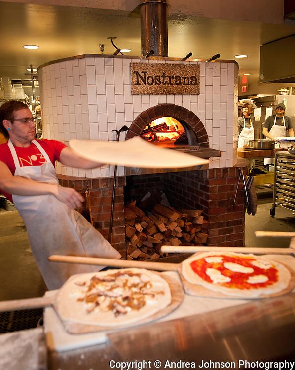 Nostrana wood fire oven pizza, SE Portland, Oregon