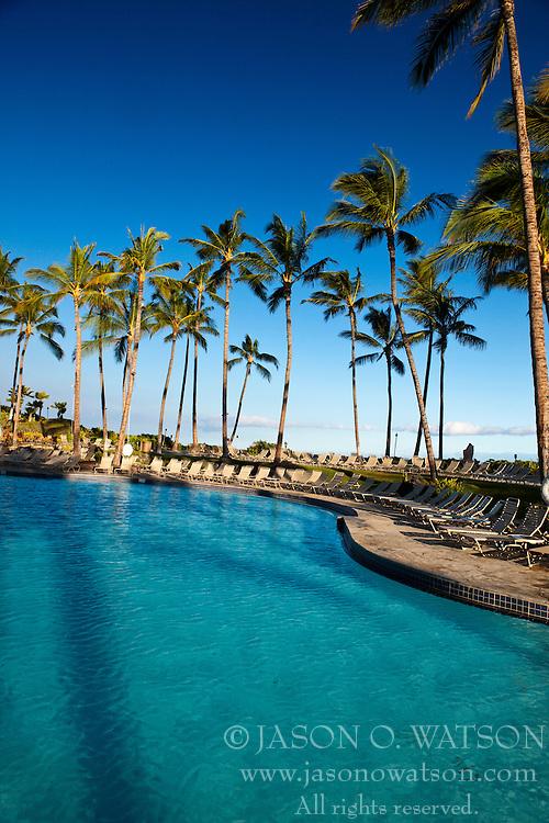 Swimming pool, Hilton Waikoloa Village, The Big Island, Hawaii, United States of America