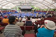 Seoul Nori Madang open-air folcloric theatre.