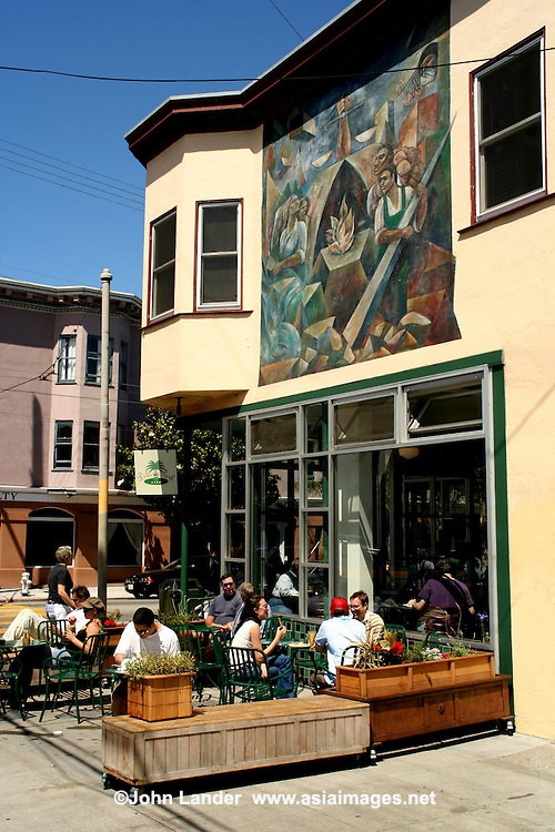 Dolores Park Cafe, Mission Murals