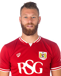 Nathan Baker of Bristol City   - Mandatory byline: Joe Meredith/JMP - 07966386802 - 04/08/2015 - FOOTBALL - Bristol City Training Ground -Bristol,England - Bristol City Headshots