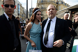 Lana Del Rey enjoys a day with her sister (Blonde Hair) after lunch with Harvey Weinstein at L'Avenue Restaurant in Paris, France, on July 2, 2012. Photo by ABACAPRESS.COM  | 326224_016