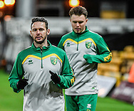 Matt Jarvis of Norwich City U23 before the match against Dinamo Zagreb U23 in the Premier League International Cup Quarter-Final match at Carrow Road, Norwich<br /> Picture by Matthew Usher/Focus Images Ltd +44 7902 242054<br /> 27/02/2017