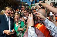 KONINGINNEDAG 2012 RHENEN EN VEENENDAAL MAXIMA BEATRIX