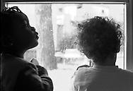 Roma 15/01/2004: Asilo Nido della Scuola in viale Alessandrino..©Andrea Sabbadini