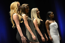 NFL Philadelphia Eagles organization introduces selection for 2016 Eagles cheerleading squad at final auditioning show, held on April 5, 2016 at Merriam Theatre in Center City Philadelphia, PA.