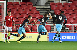 Brad Beatson of Sheffield Wednesday U21 celebrates his goal - Mandatory by-line: Paul Knight/JMP - Mobile: 07966 386802 - 12/10/2015 -  FOOTBALL - Ashton Gate Stadium - Bristol, England -  Bristol City U21 v Sheffield Wednesday U21 - Professional Development League