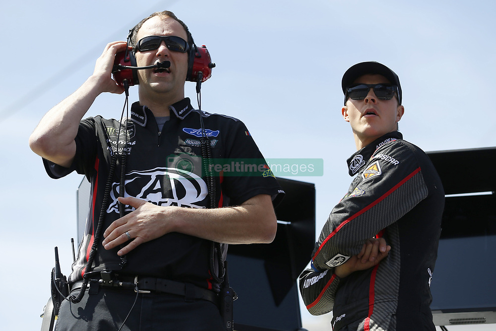 April 13, 2018 - Bristol, Tennessee, United States of America - April 13, 2018 - Bristol, Tennessee, USA: Trevor Bayne (6) gets ready to practice for the Food City 500 at Bristol Motor Speedway in Bristol, Tennessee. (Credit Image: © Stephen A. Arce/ASP via ZUMA Wire)
