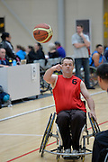 Action from the Basketball Wheelchair National Championships 2013 at ASB Sports Centre, Wellington, New Zealand on Saturday 21 September.<br /> Photo by Masanori Udagawa<br /> www.photowellington.photoshelter.com