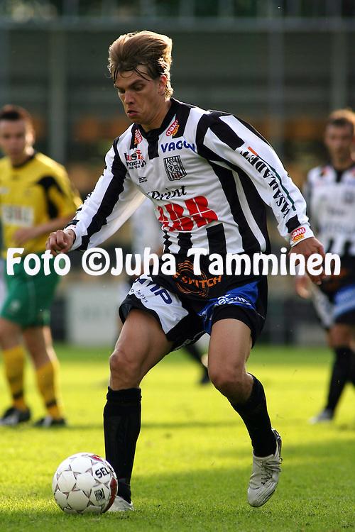 19.06.2008, Tammelan stadion, Tampere, Finland..Suomen Cup 2008 - Finnish Cup 2008.Ilves - Vaasan Palloseura.Jyri Hietaharju - VPS.©Juha Tamminen.....ARK:k