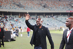 21042018 (Durban) Kaizer Chiefs take on Free State Stars in the first Semi-Final at the Moses Mabhida Stadium On Saturday evening. Headcoach of Kaizer Chiefs Steve Kompelaat the stadium<br /> Picture: Motshwari Mofokeng/ANA