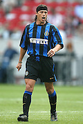 JAVIER ZANETTI.INTER MILAN.SONY AMSTERDAM TOURNAMENT.AMSTERDAM ARENA,AMSTERDAM,HOLLAND.01/08/2003.DID14418