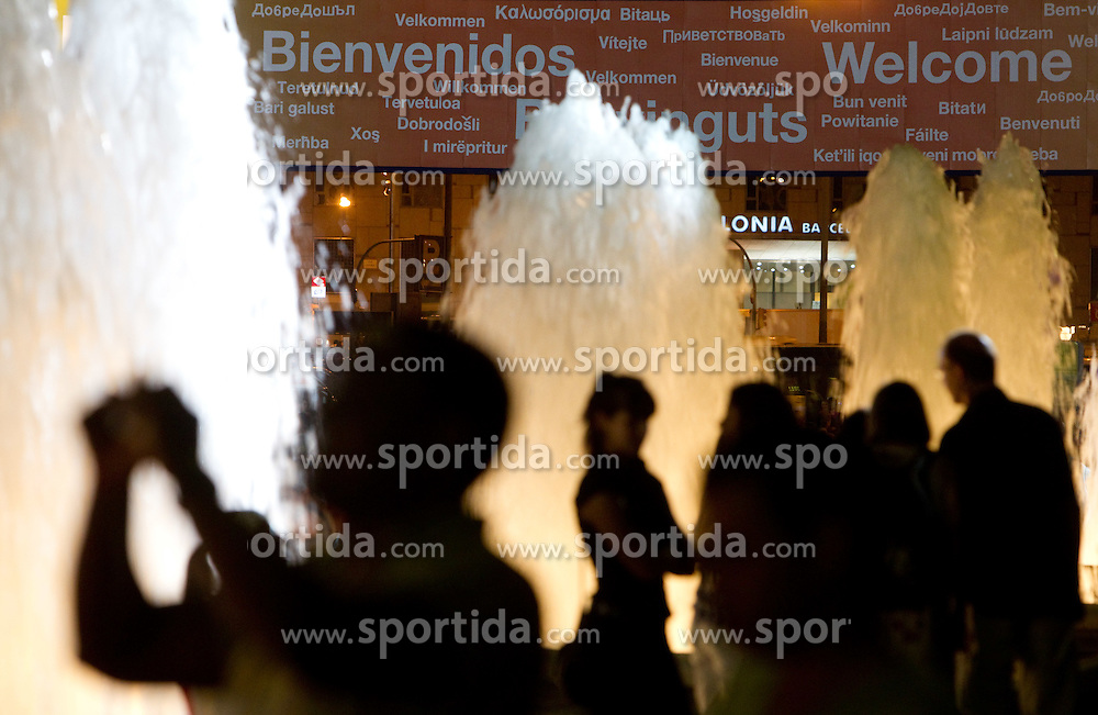 Opening Ceremony of the 20th European Athletics Championships at the Font Magica on July 26, 2010 in Barcelona, Spain. (Photo by Vid Ponikvar / Sportida)