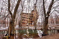 The World's Tallest Treehouse, in Crossville, TN